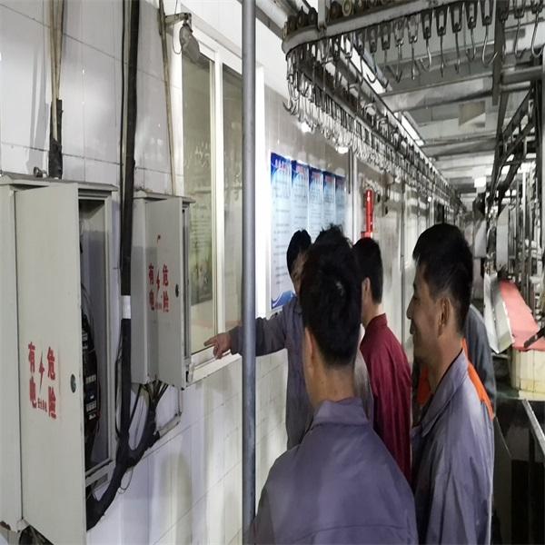 屠宰厂工人电器使用培训